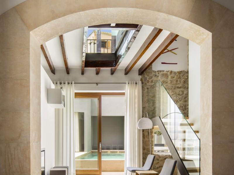 Erdgeschoss Wohnbereich/Kaminzimmer